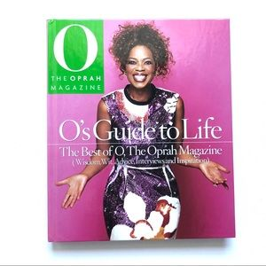 Other - 🌞EUC   Hardcover O's Guide To Life, The Best of O